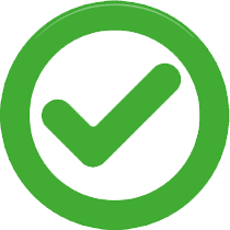 Green Round Tick